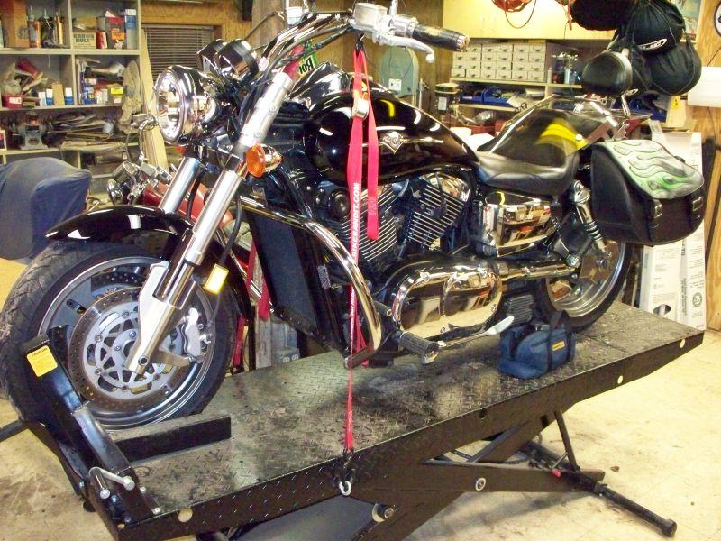 How do you jack up your bike? - Kawasaki Motorcycle Forums